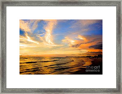 Liquid Gold Framed Print by Margie Amberge