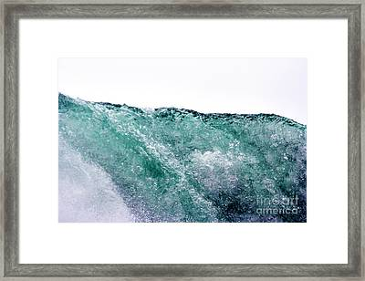 Framed Print featuring the photograph Liquid Horizon by Dana DiPasquale