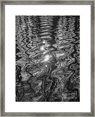 Liquid Light Framed Print