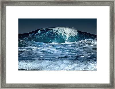 Liquid Mountain Framed Print by Stelios Kleanthous