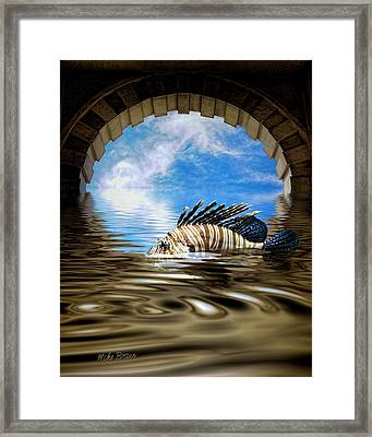Liquid Obscura Framed Print