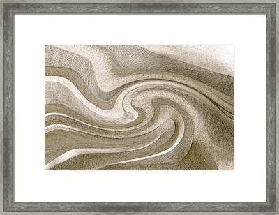 Liquidity 2 Framed Print