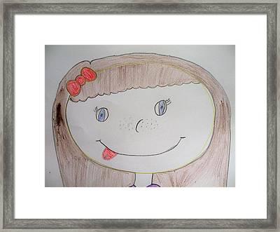 Lisa Framed Print