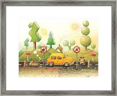 Lisas Journey02 Framed Print by Kestutis Kasparavicius