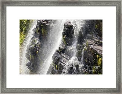Lisbon Falls, South Africa. Framed Print by Jane Rix