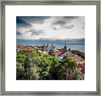 Lisbon Overlook Framed Print