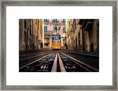 Lisbon Scene Framed Print