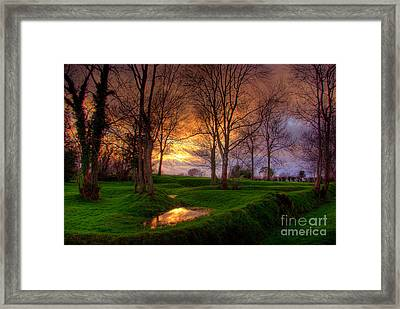 Lisnamintry Rath Framed Print by Kim Shatwell-Irishphotographer