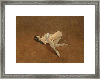 Lissome Framed Print by Antonio Ortiz