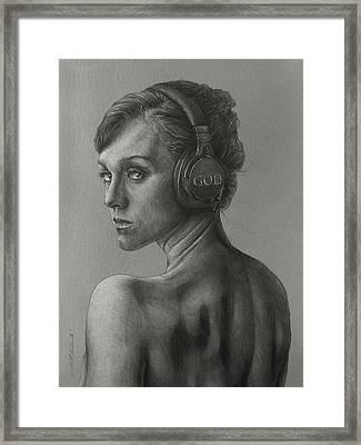 Listen 15 Framed Print