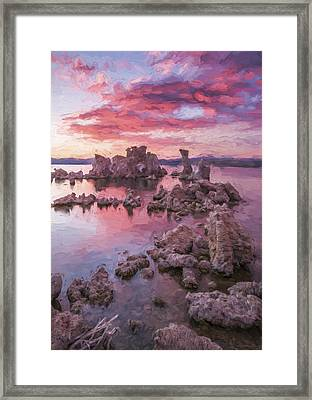 Listen For The Sound II Framed Print by Jon Glaser