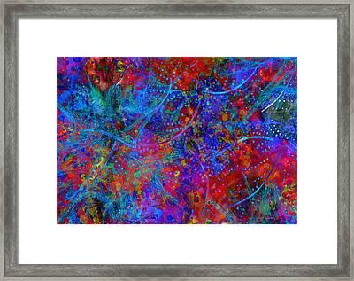 Listen Framed Print by Moon Stumpp