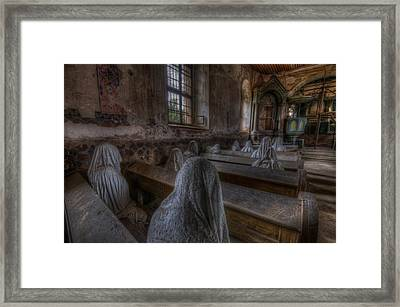 Listen  Framed Print by Nathan Wright