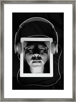 Listen To Inner Voice Framed Print