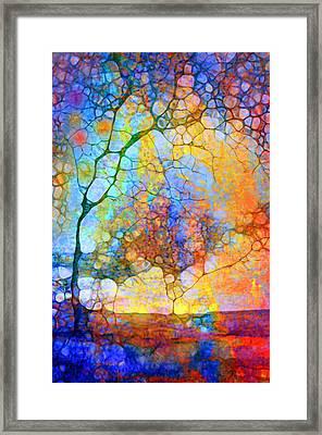 Listen To The Colours Inside Framed Print