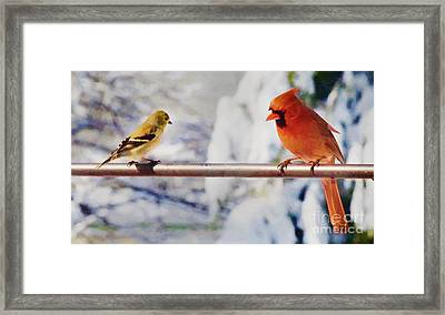 Listen Young One Framed Print