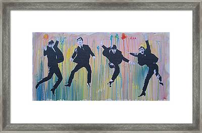 Literally The Beatles Framed Print by Gary Hogben