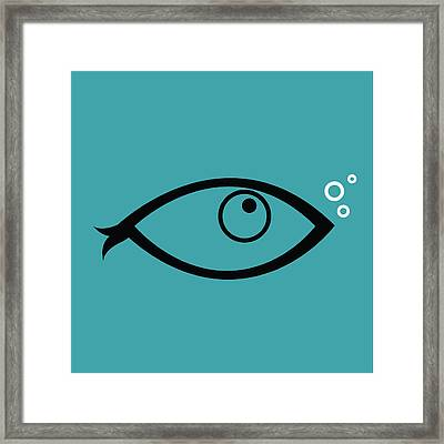 Little Fish In The Ocean Framed Print by Dragana  Gajic