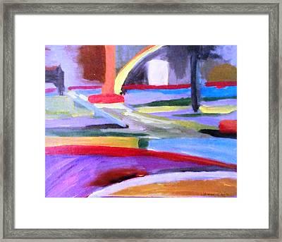 Little Acrylic Framed Print by Jamie Frier