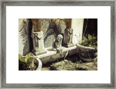 Little Angel Framed Print by Garry Gay