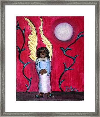 Little Angel Framed Print by Pilar  Martinez-Byrne