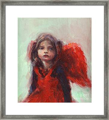 Little Angel Framed Print by Svetlana Novikova