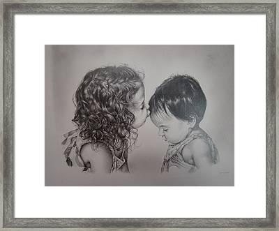 Little Angels Framed Print by Michael Lee Summers