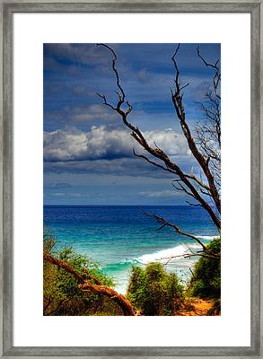 Little Beach Maui Framed Print by Kelly Wade