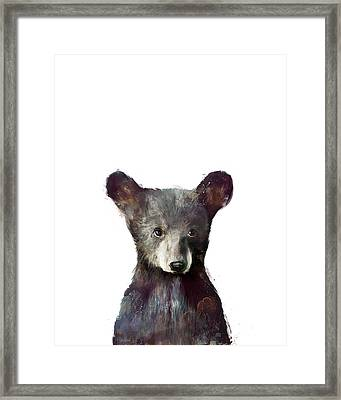 Little Bear Framed Print by Amy Hamilton
