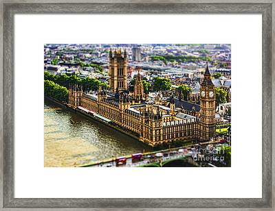 Little Ben Framed Print by Andrew Paranavitana
