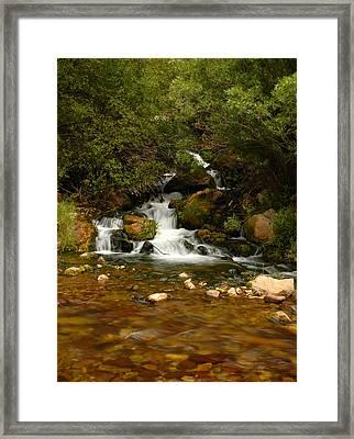 Little Big Creek Framed Print