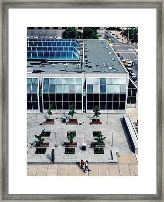 Little Big World. Street And Architecture. Framed Print by Dylan Murphy