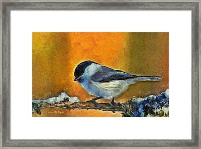 Little Bird - Da Framed Print