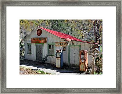 Little Bit O' Store Framed Print by Alan Lenk