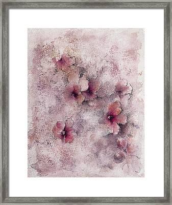 Little Blossoms Framed Print by Rachel Christine Nowicki