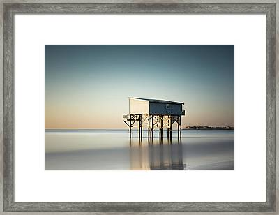 Little Blue Sunrise Framed Print by Ivo Kerssemakers