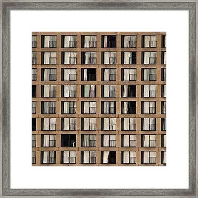 Little Boxes Framed Print by Ryan Heffron