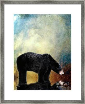 Little Boy Lost Framed Print by Lois Bryan