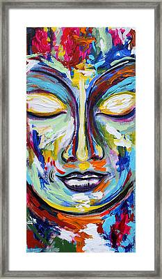 Little Buddha Framed Print