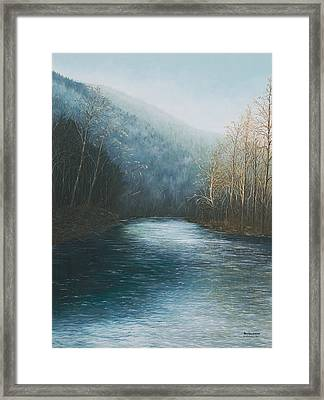 Little Buffalo River Framed Print