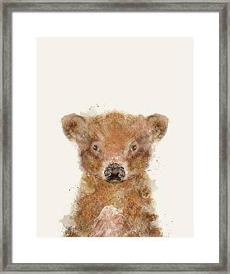 Little Calf Framed Print