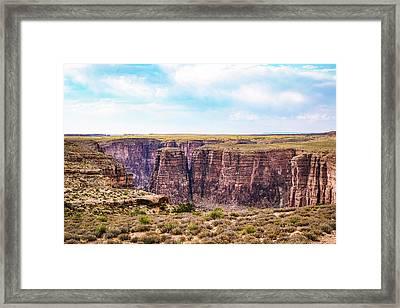 Little Canyon Framed Print