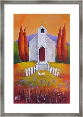 Little Chapel 5 Framed Print