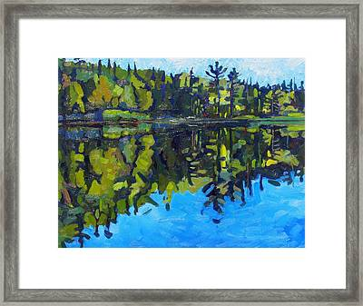 Little Clear Morning Framed Print by Phil Chadwick