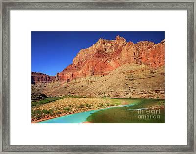 Little Colorado River Confluence #1 Framed Print