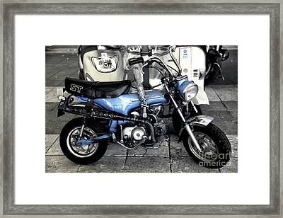 Little Cycle Framed Print by John Rizzuto