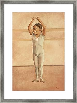 Little Dancer Framed Print