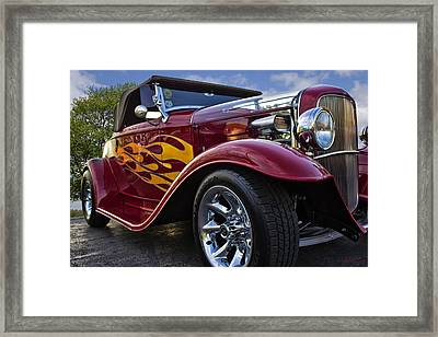 Little Deuce Coupe Framed Print by Skip Tribby