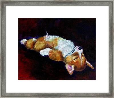 Little Dreamer Framed Print by Lyn Cook
