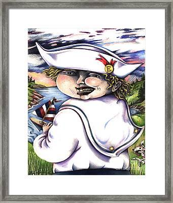 Little Elmo Framed Print